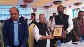 একুশে পদকপ্রাপ্ত মুক্তিযোদ্ধা ফজলুল রহমান কে গোপালপুরে গণসংবর্ধনা