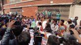 সচিবালয় গেটে ভিপি নুরের সমাবেশ, সরকারকে আল্টিমেটাম