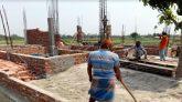 বগুড়ার শেরপুরে মন্দিরের জায়গায় জোরপূর্বক বাড়ি নির্মাণ